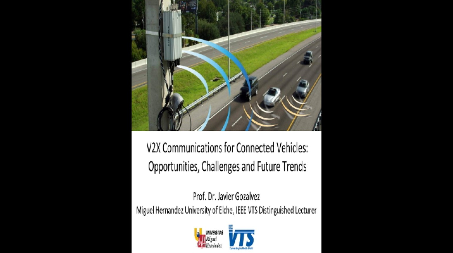 Video - Cooperative Vehicle-to-Vehicle and Vehicle-to-Infrastructure Communication and Networking Protocols