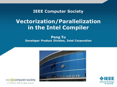 Vectorization/Parallelization in the Intel Compiler