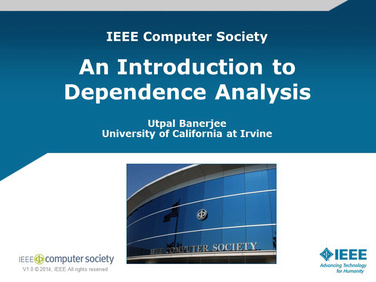 Dependences and Dependence Analysis