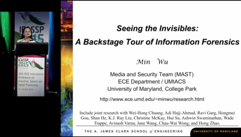 Seeing the Invisibles: A Backstage Tour of Information Forensics