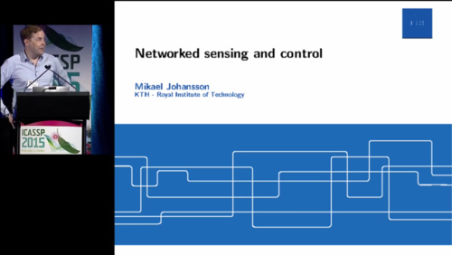 Networked Sensing and Control