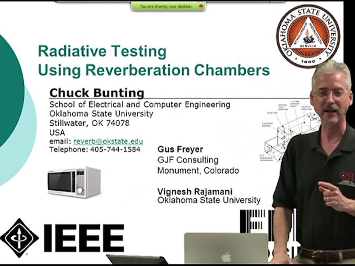 EMC - Chuck Bunting - Radiative EMC Testing Using Reverberation Chambers