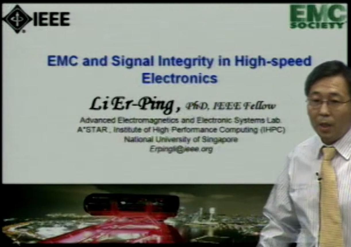 EMC - Li Er-Ping - Signal integrity and EMI in high speed electronics