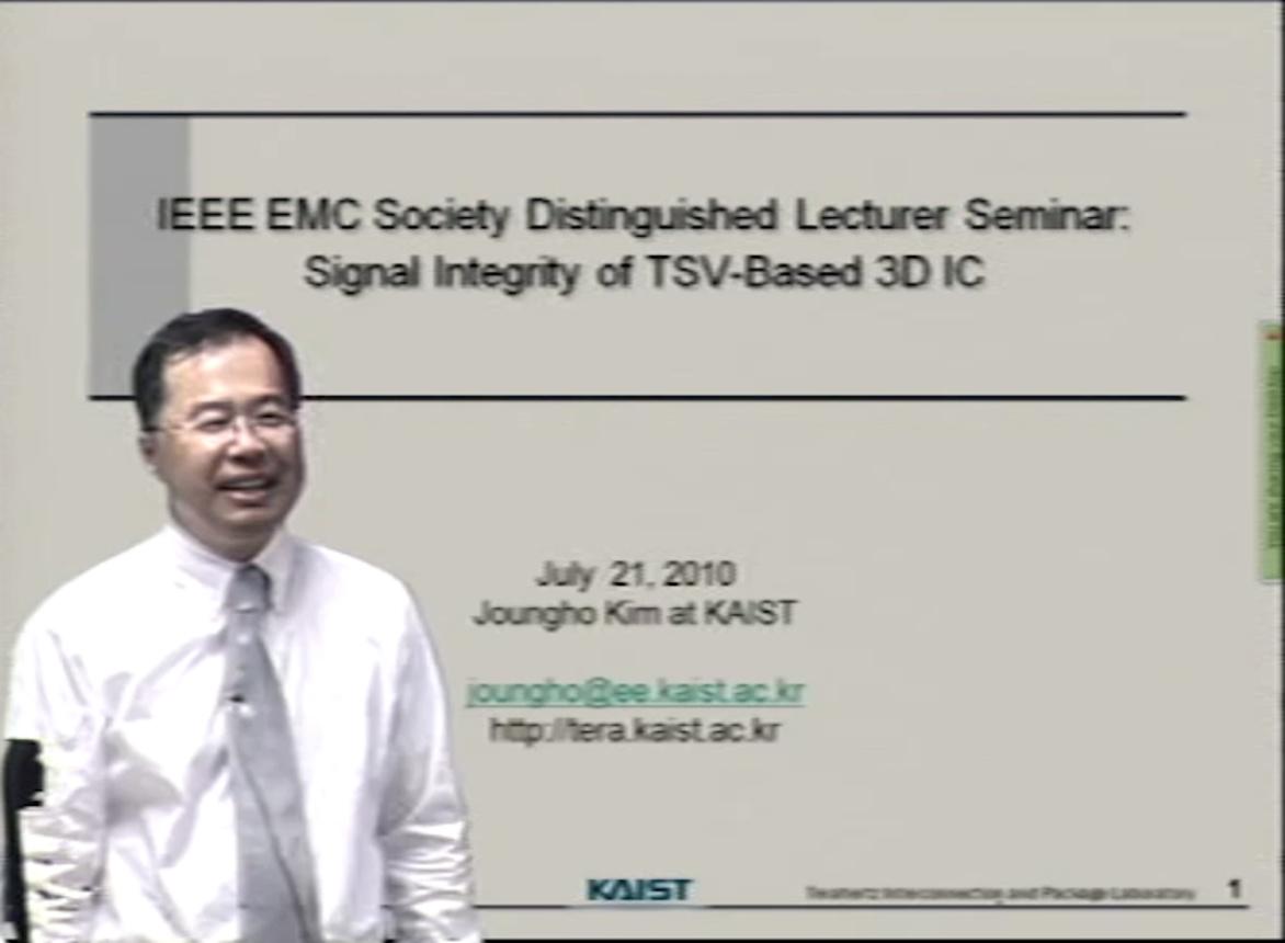 EMC - Joungho Kim - Signal integrity of TSV-based 3D IC