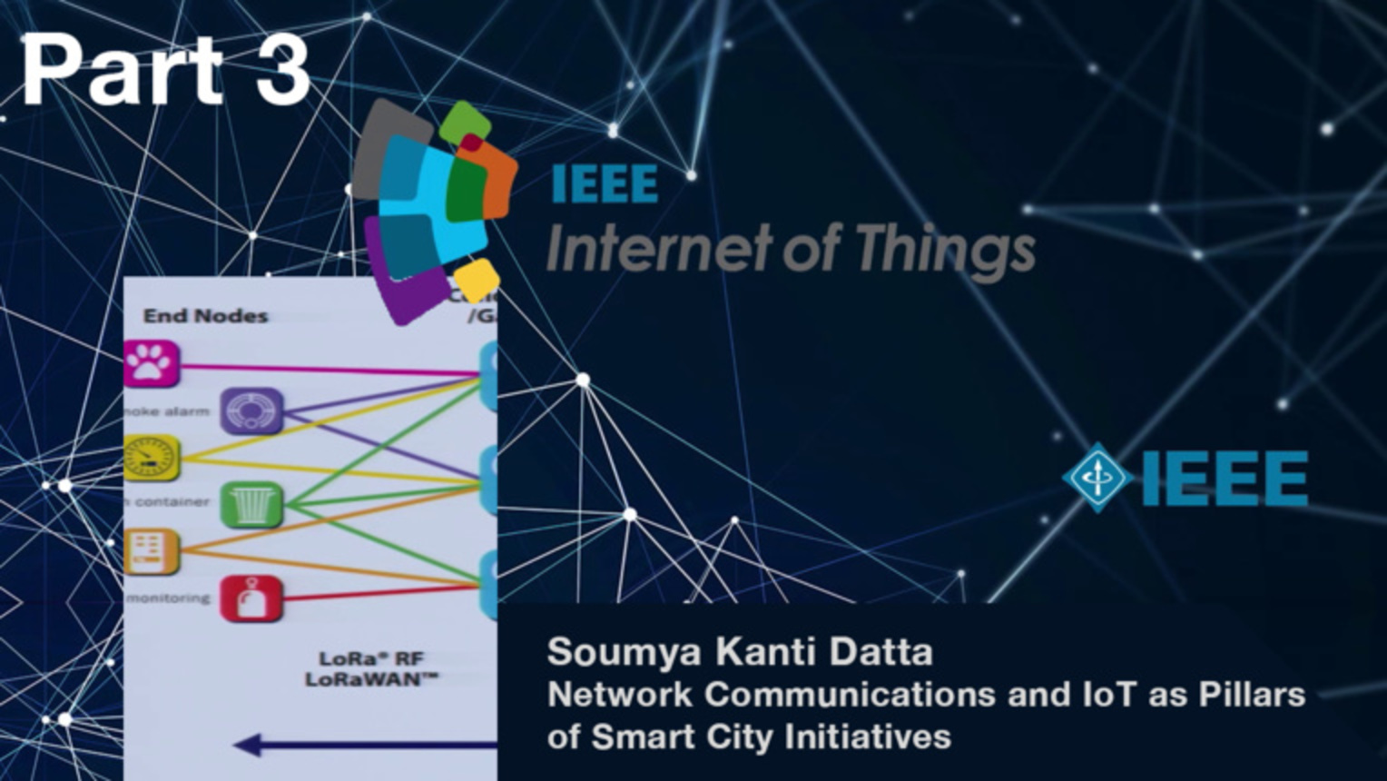 Part 3: Network Communications and Internet of Things as Pillars of Smart City Initiatives - Soumya Kanti Datta, IEEE WF-IoT 2015