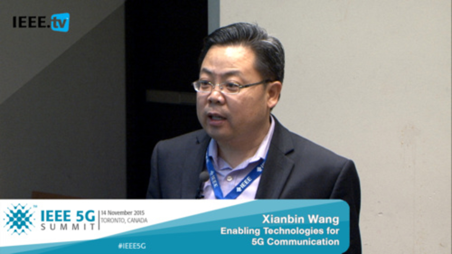 Toronto 5G Summit - 2015 - Xianbin Wang - Enabling Technologies for Highly Efficient and Cost-Effective 5G Communications