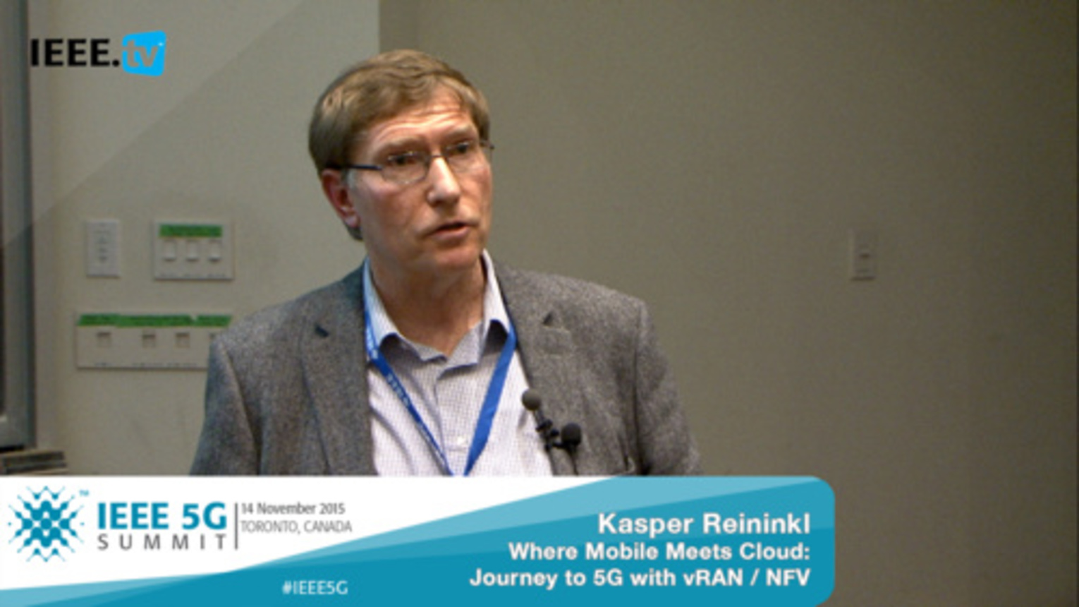 Toronto 5G Summit - 2015 - Kasper Reininkl - Where Mobile Meets Cloud