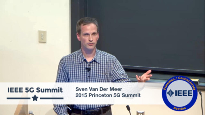 Princeton 5G Summit - Sven Van Der Meer Keynote - Automatic Automation