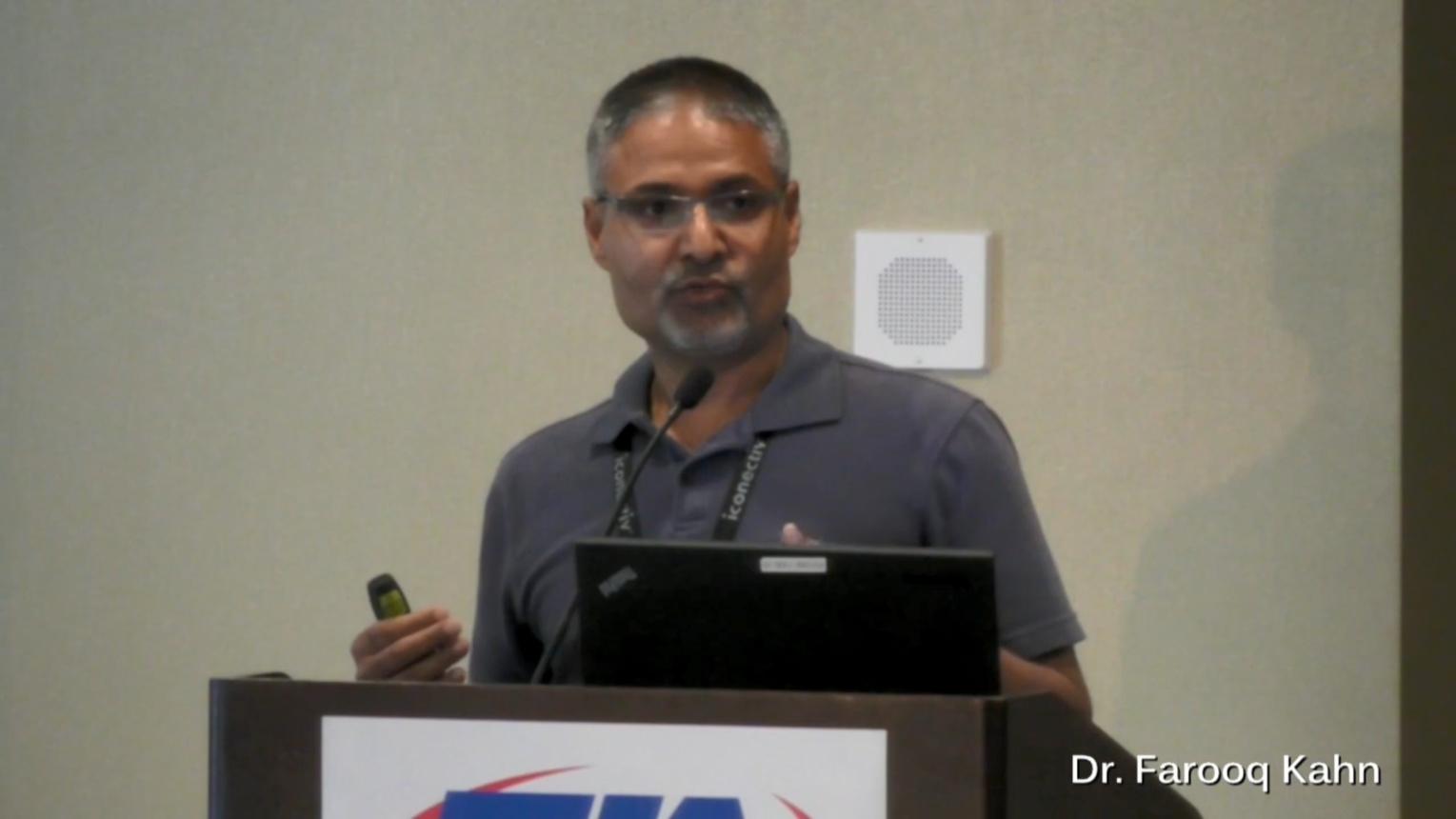 Keynote: Rolling out 5G in 2017 - Dr. Farooq Khan, PHAZR