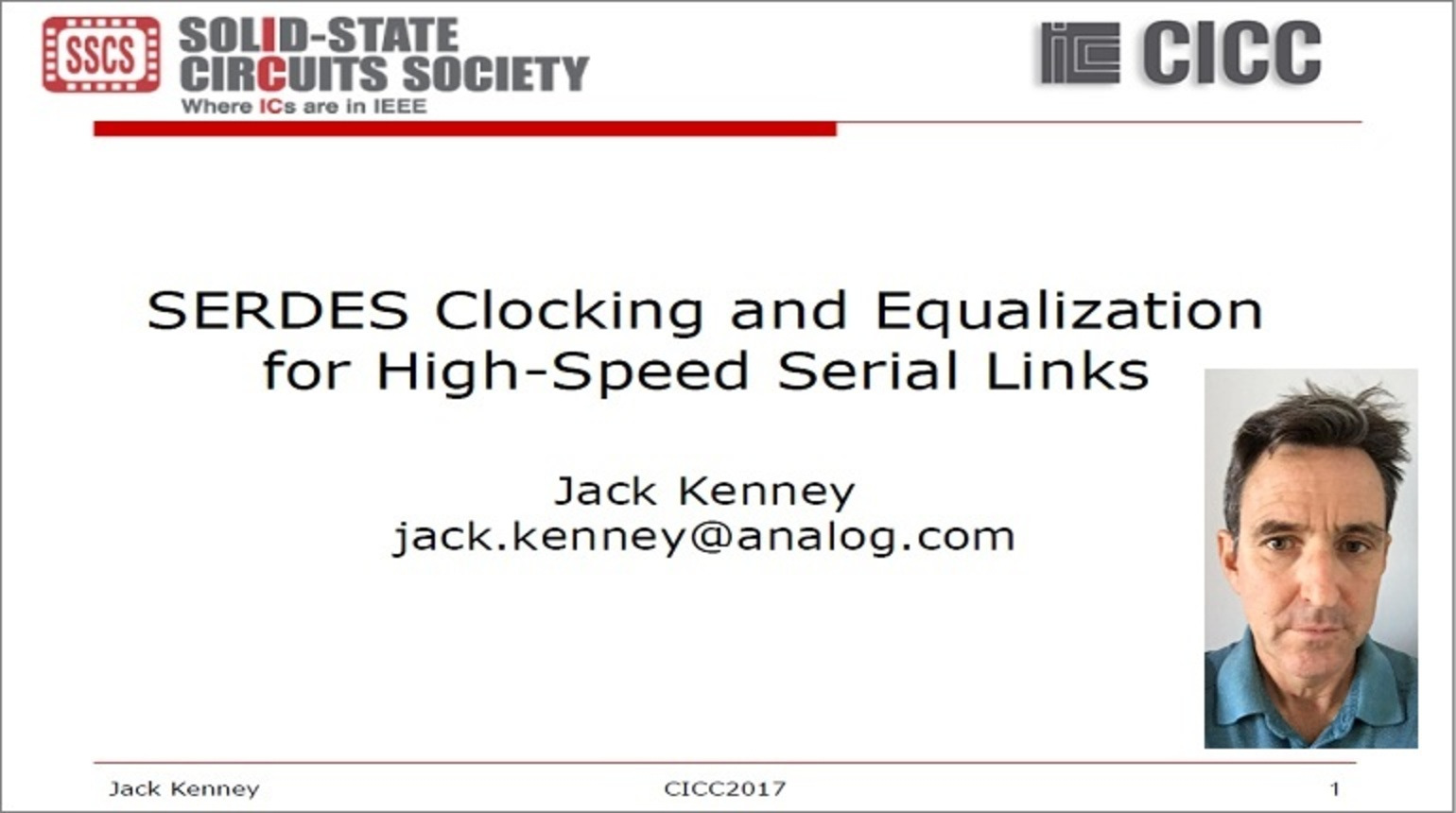 SERDES Clocking and Equalization for High-Speed Serial Links Video