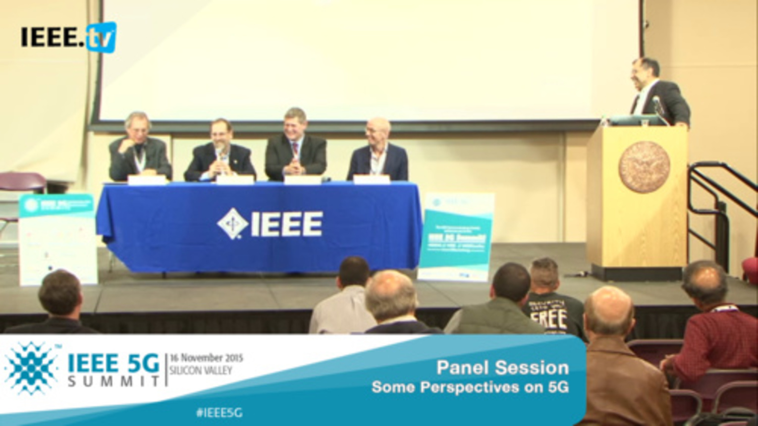 Silicon Valley 5G Summit 2015 - Panel Discussion