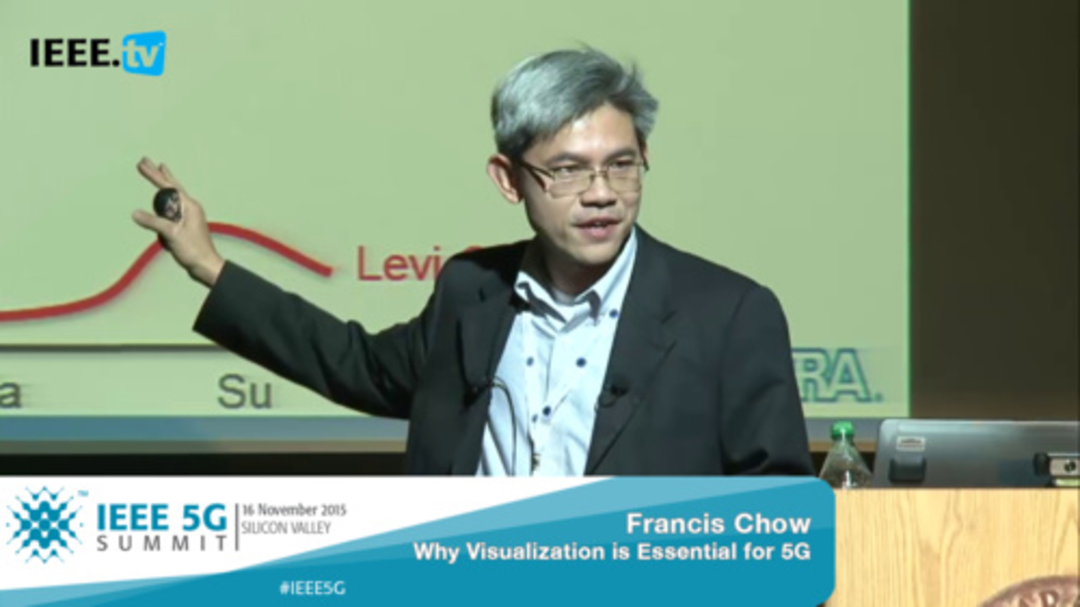 Silicon Valley 5G Summit 2015 - Francis Chow - Why Virtualization is Essential for 5G