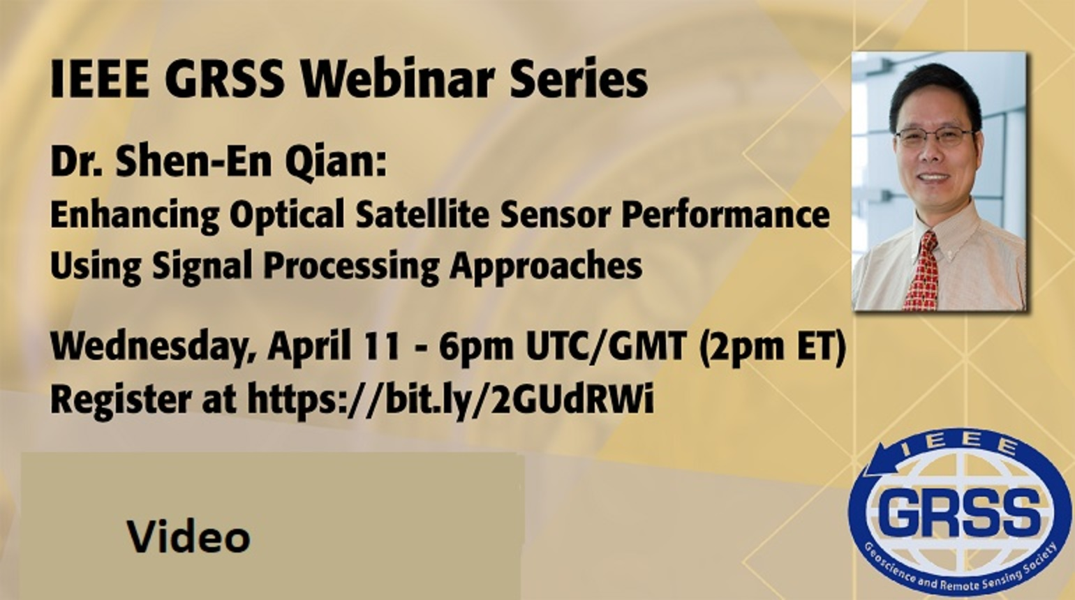 Enhancing Optical Satellite Sensor Performance Using Signal Processing Approaches - Video