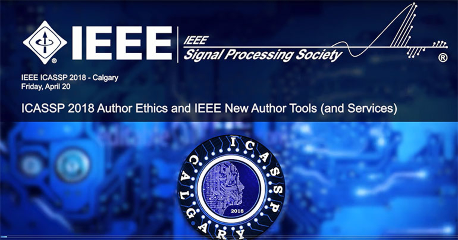Author Ethics and IEEE New Author Tools