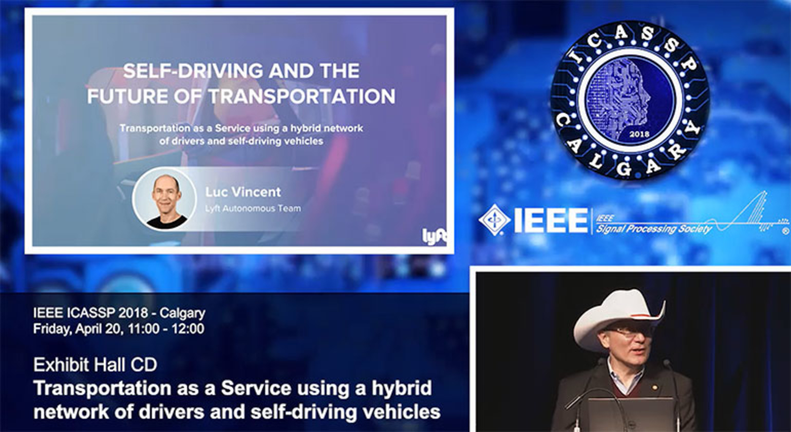 Plenary 4 – Transportation as a Service Using a Hybrid Network of Drivers and Self-driving Vehicles
