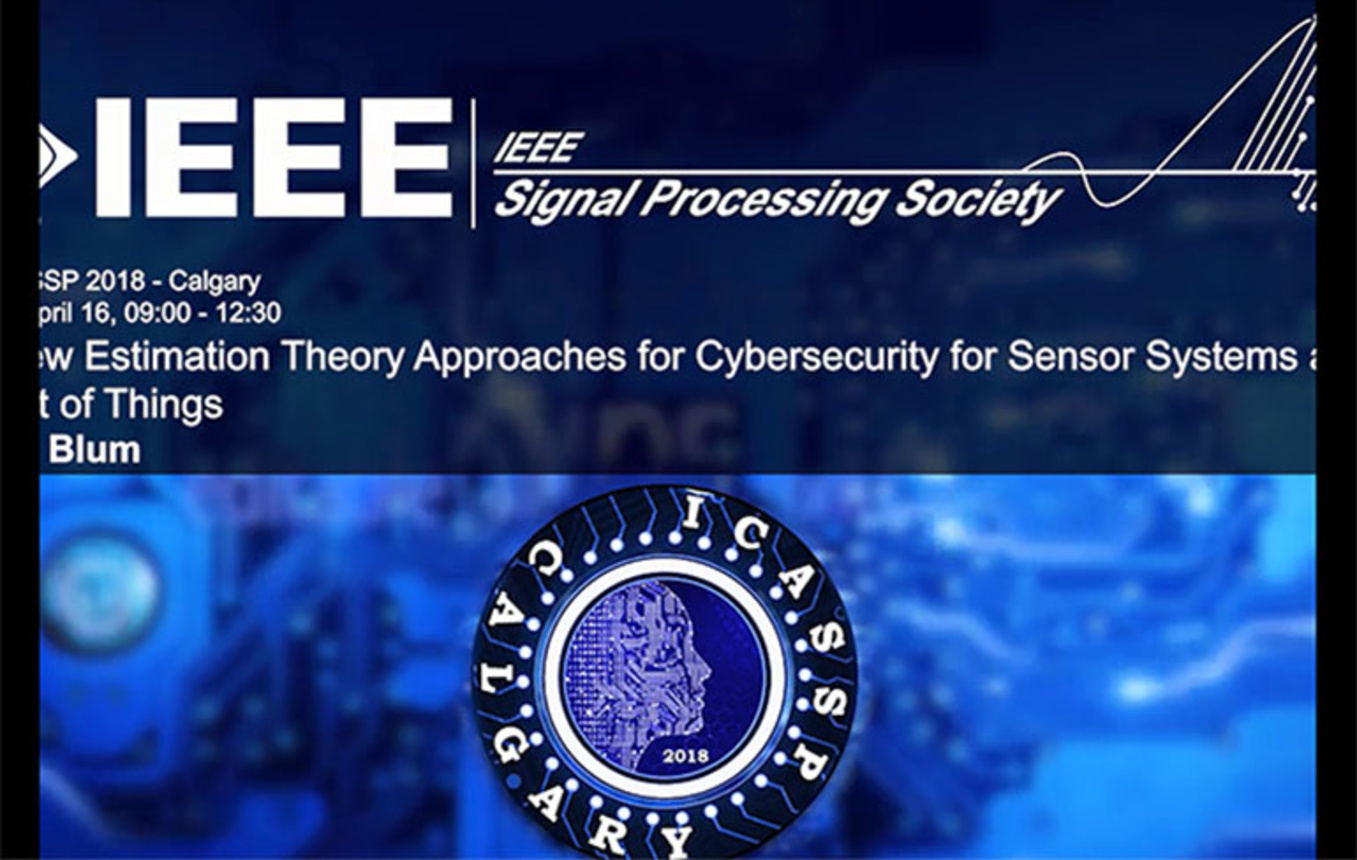 Tutorial 2 – New Estimation Theory Approaches for Cybersecurity for Sensor Systems and the Internet of Things