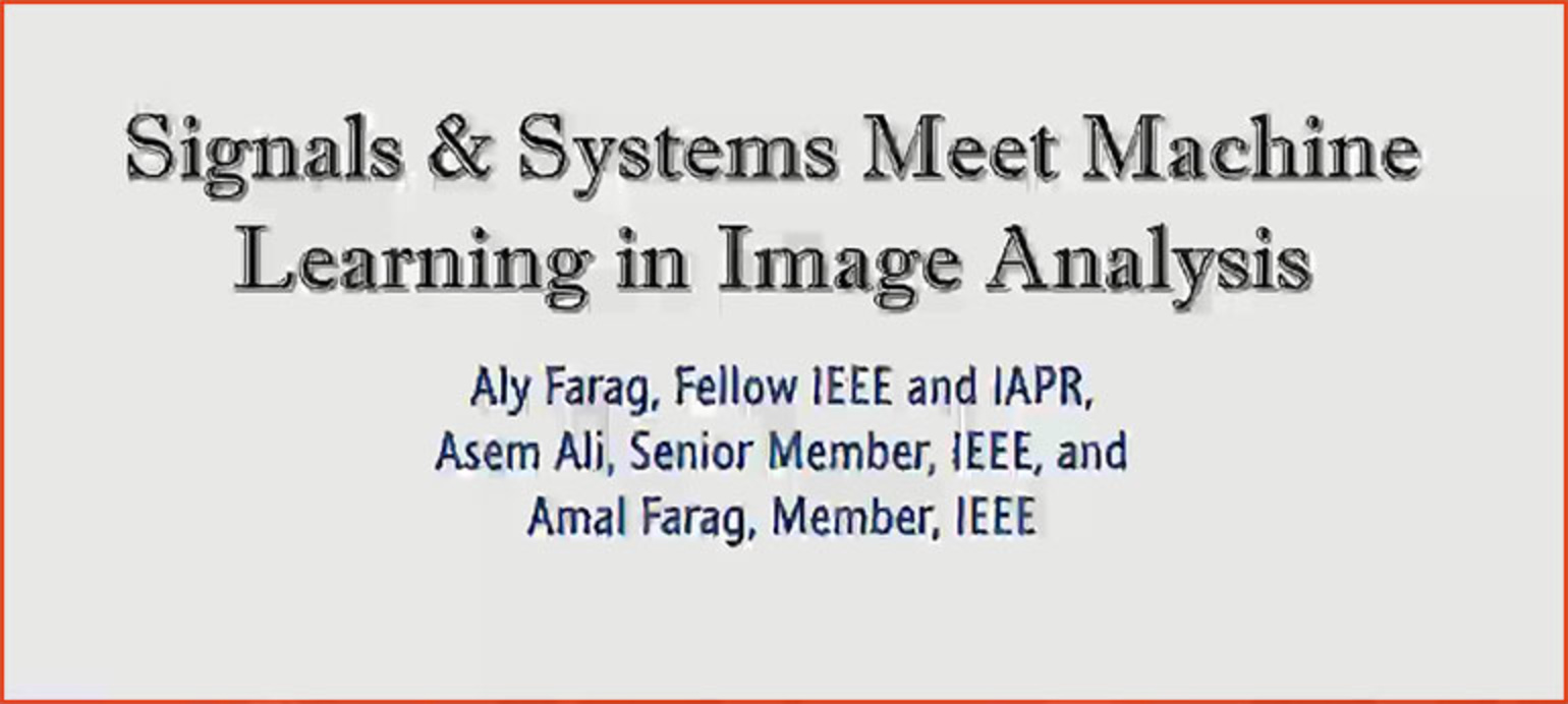 Tutorial 12 – Signals and Systems Meets Machine Learning Biomedical Image Analysis