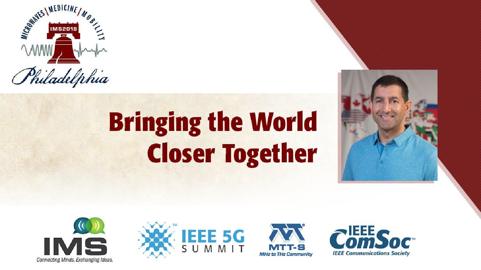 'Bringing the World Closer Together'