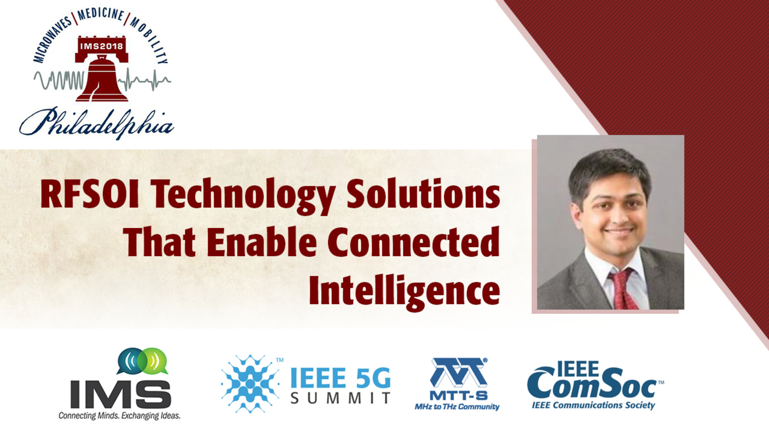 'RFSOI Technology solutions that enable Connected Intelligence through a Complete 5G Platform Solution'