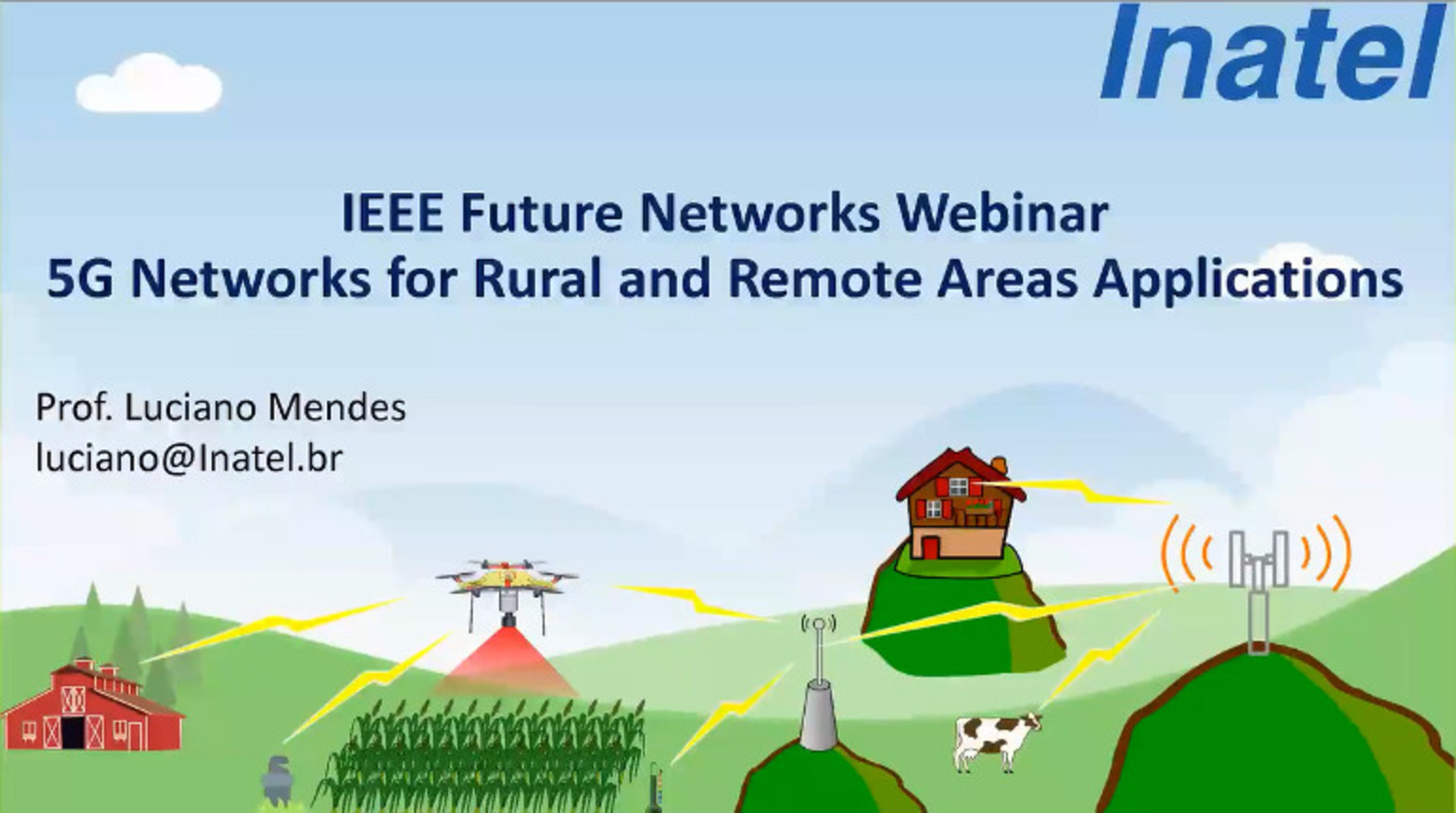 IEEE Future Networks: 5G Networks for Rural and Remote Areas Applications