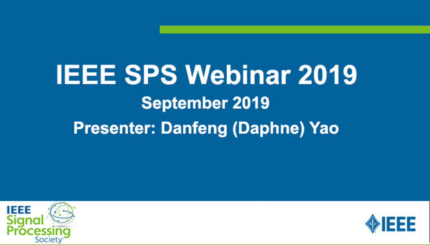 SPS Webinar: Data Breaches and Multiple Points to Stop Them. By Danfeng (Daphne) Yao