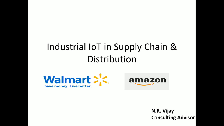 Unlocking efficiencies in supply chain & distribution using Industrial IoT