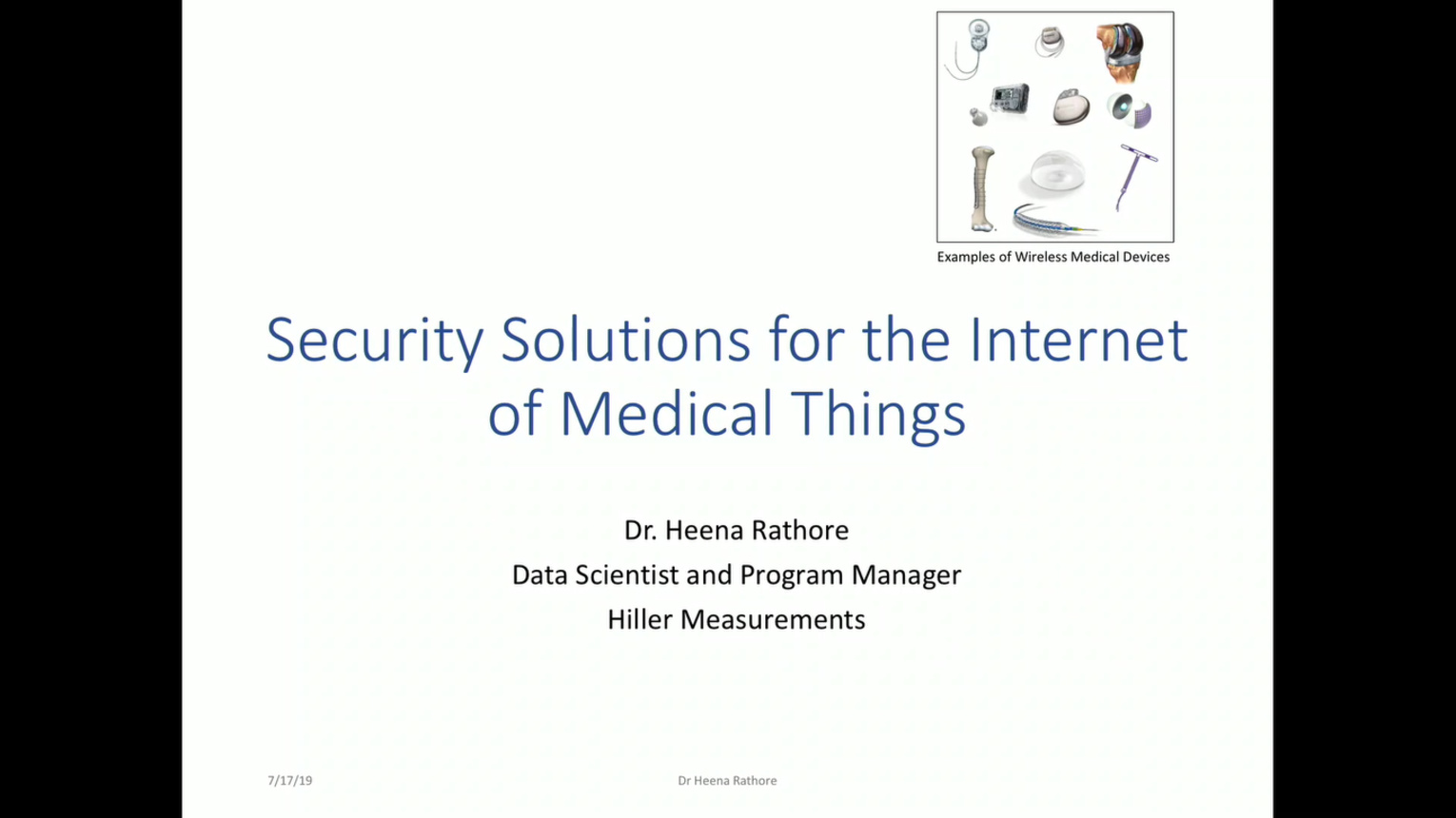 Deep Learning Based Security Solutions for the Internet of Medical Things