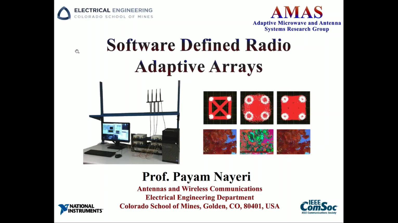 Software Defined Radio Adaptive Arrays