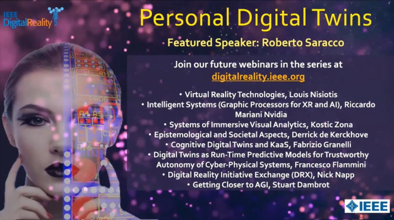 IEEE Digital Reality: Digital Twins