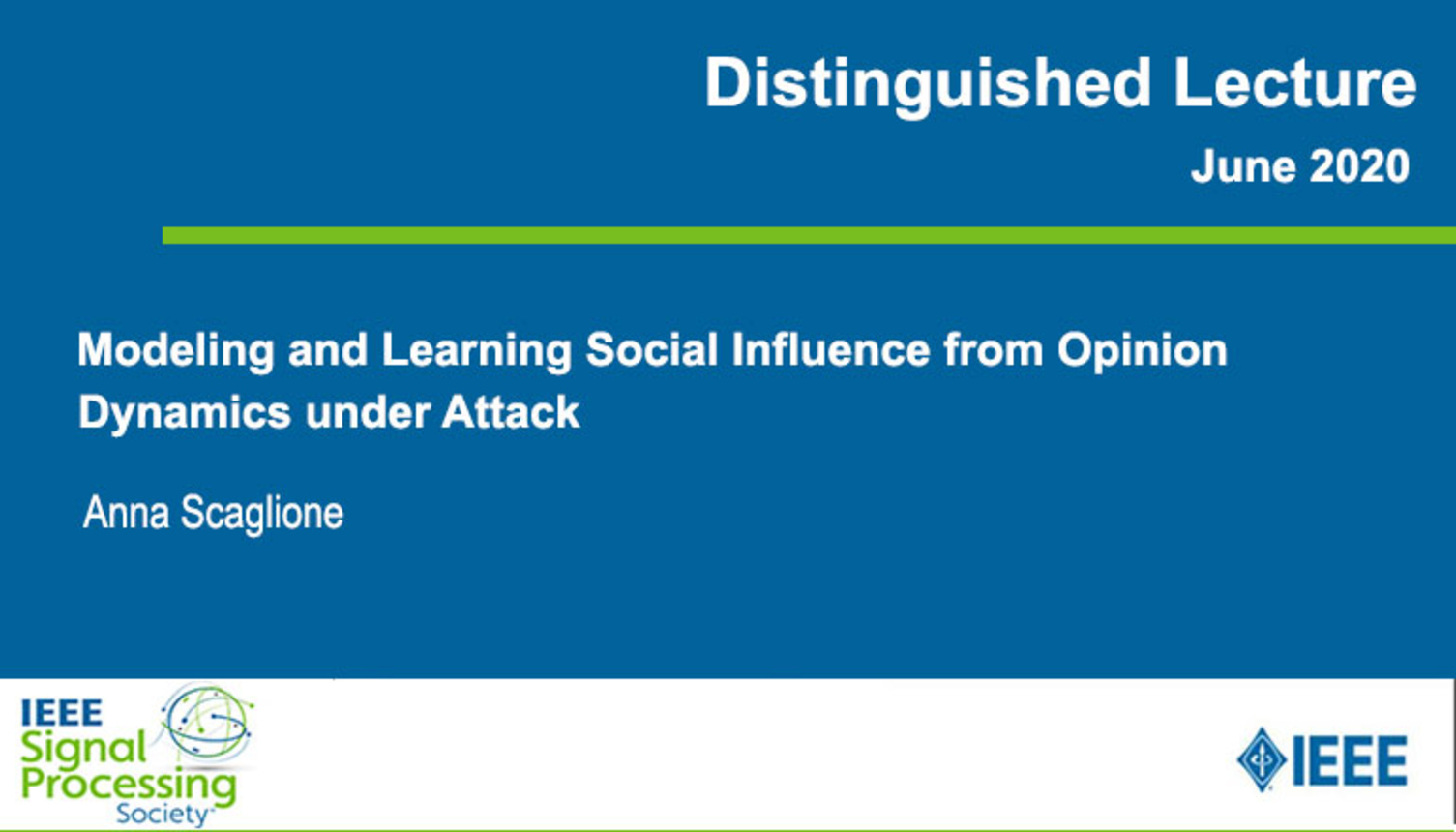 Modeling and Learning Social Influence from Opinion Dynamics under Attack