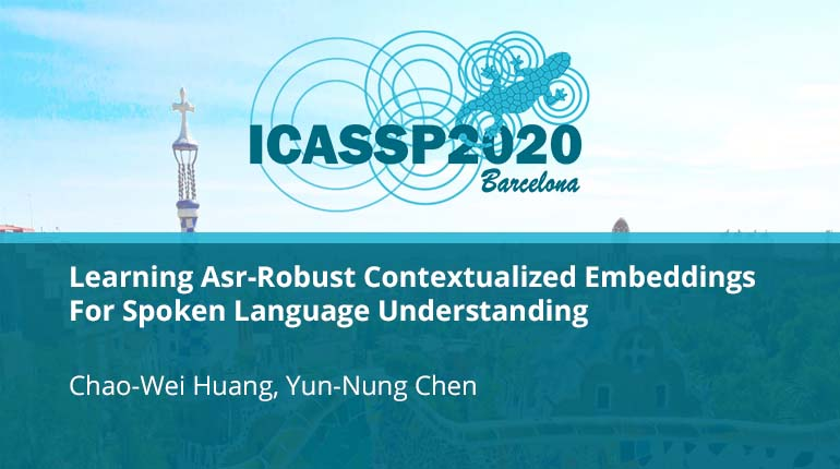 Learning Asr-Robust Contextualized Embeddings For Spoken Language Understanding