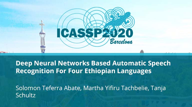 Deep Neural Networks Based Automatic Speech Recognition For Four Ethiopian Languages