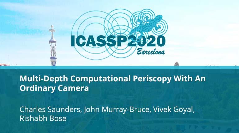 Multi-Depth Computational Periscopy With An Ordinary Camera