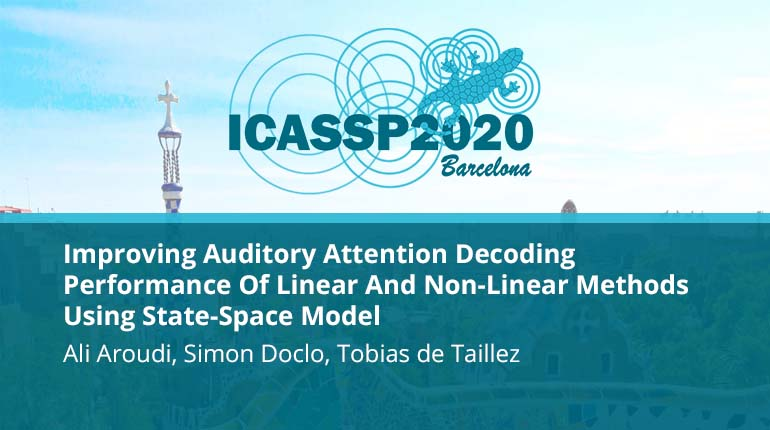 Improving Auditory Attention Decoding Performance Of Linear And Non-Linear Methods Using State-Space Model