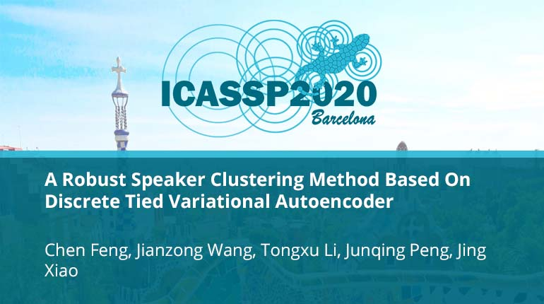 A Robust Speaker Clustering Method Based On Discrete Tied Variational Autoencoder