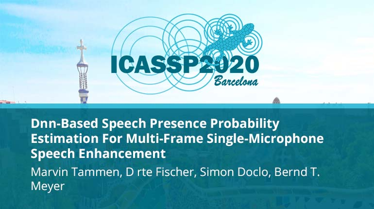 Dnn-Based Speech Presence Probability Estimation For Multi-Frame Single-Microphone Speech Enhancement