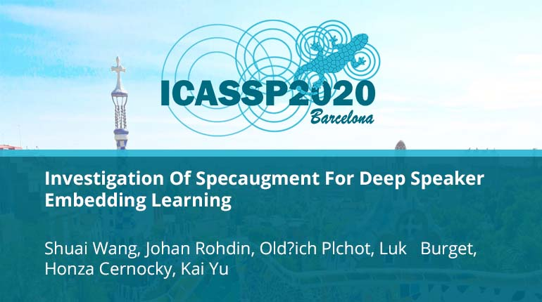 Investigation Of Specaugment For Deep Speaker Embedding Learning