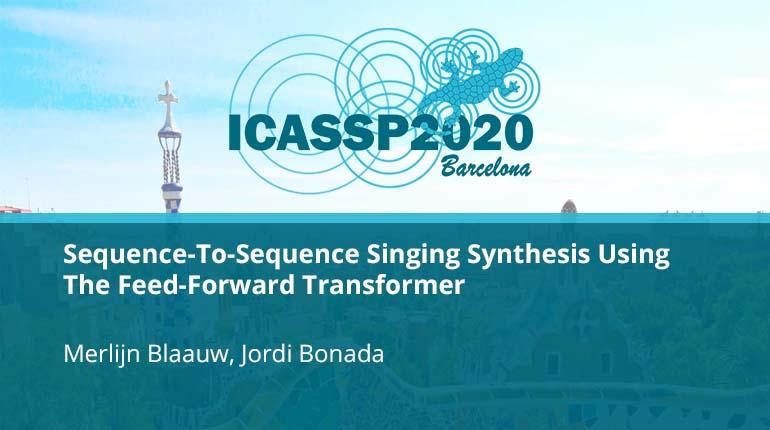 Sequence-To-Sequence Singing Synthesis Using The Feed-Forward Transformer