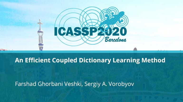 An Efficient Coupled Dictionary Learning Method