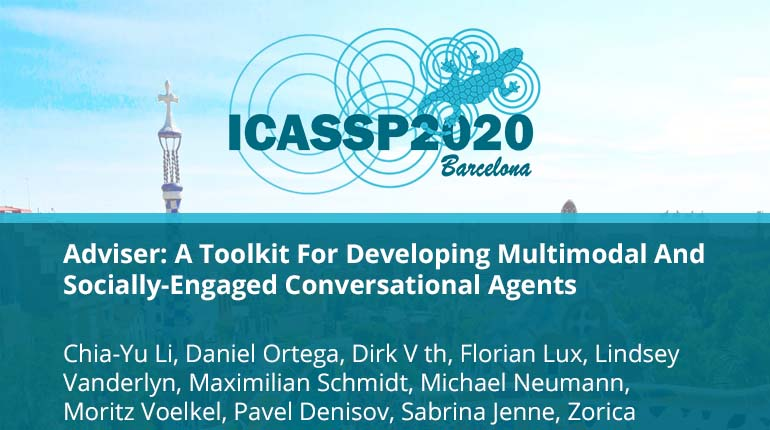 Adviser: A Toolkit For Developing Multimodal And Socially-Engaged Conversational Agents