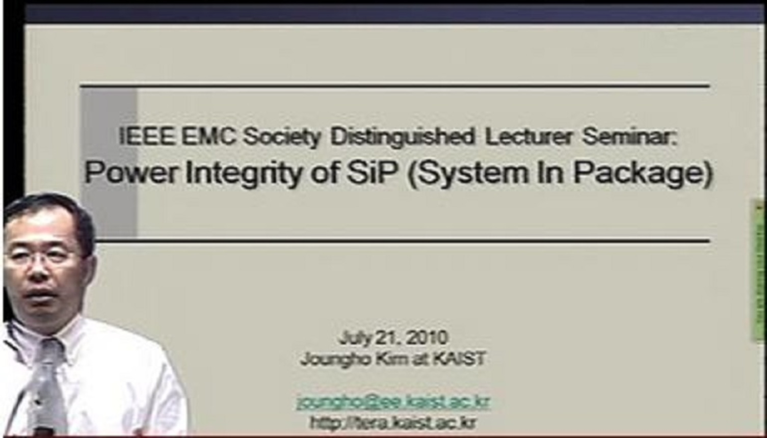 Power Integrity of SiP (System in Package) Video