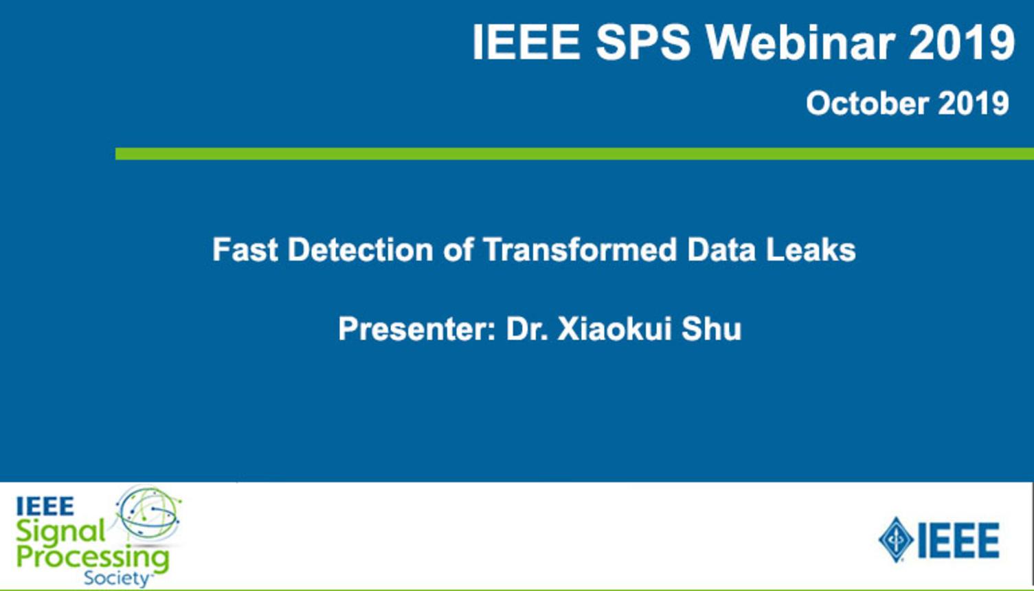 Fast Detection of Transformed Data Leaks