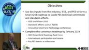 ISGT 2014 Smart Grid Roadmap