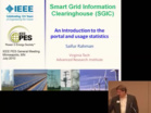 TuesAM 3 Smart Grid Information Clearinghouse SGIC