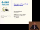 TuesAM 5 Examples of Smart Grid Demonstrations
