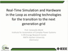 Webinar_ Real Time Simulation _ Hardware in the Lo
