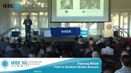 Silicon Valley 5G Summit 2015 - Farooq Khan - 5G: Path to Zetabyte Mobile Network