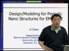 EMC - Ji Chen - Design/Modeling for Periodic Nano Structures for EMC/EMI