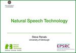 Natural Speech Technology