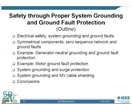 IAS Webinar Series:  Safety Through Proper System Grounding and Ground Fault Protection